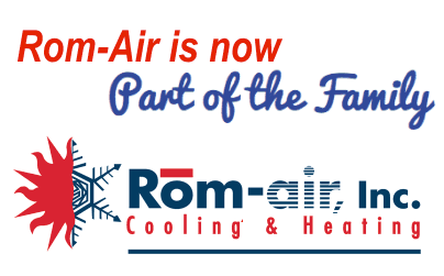 Rom-Air Cooling & Heating repair service in Mesa AZ is now part of John's Refrigeration.