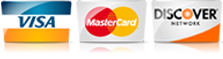 For Heater in Mesa AZ, we accept most major credit cards.