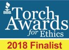 BBB Torch Award 2018 Finalist
